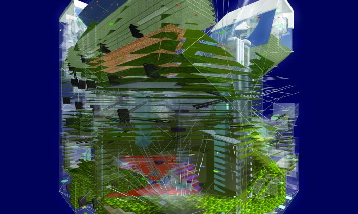 MVRDV,  from: Manyfacts, Life in the 3D City, 2001